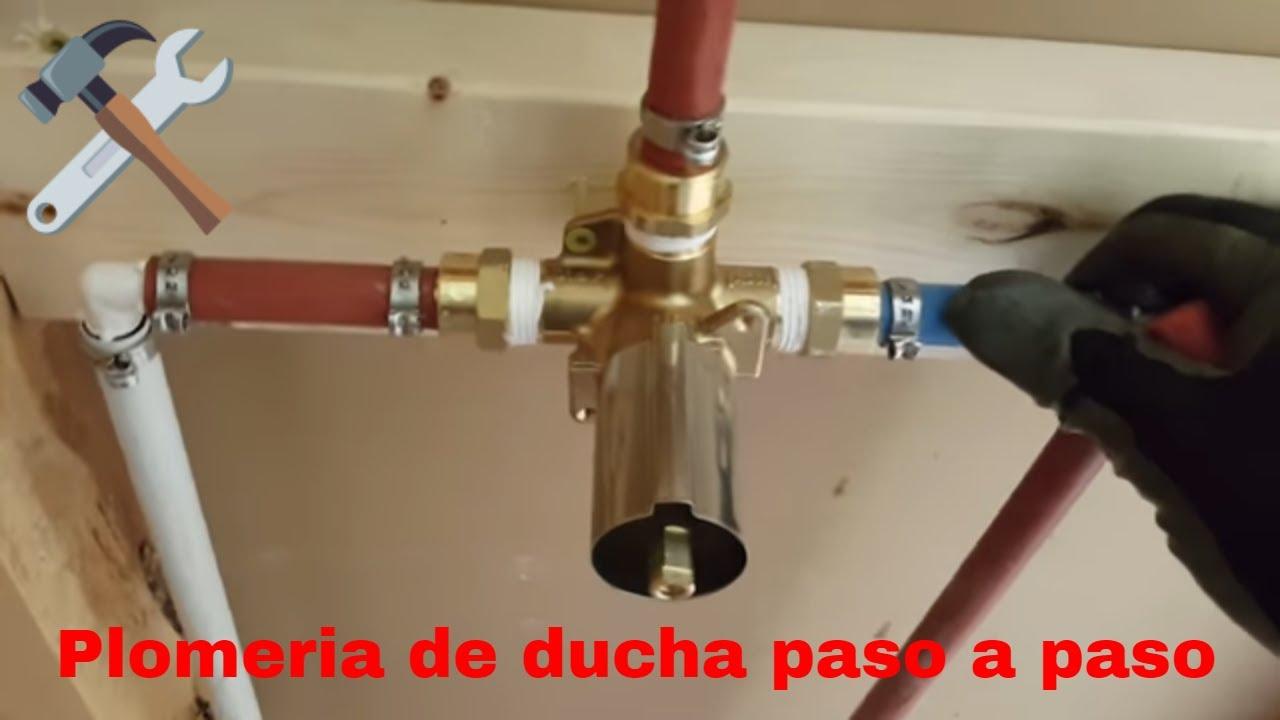 Como instalar un grifo de ducha youtube - Como instalar un plato de ducha ...