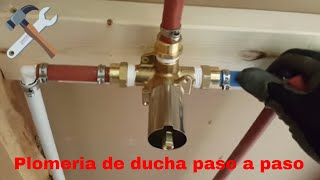 Como instalar un grifo de ducha