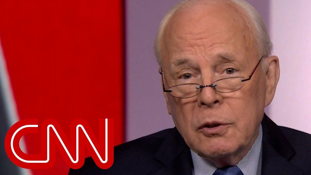 John Dean responds to Trump calling him a 'rat'