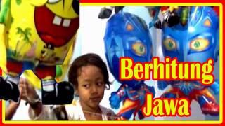 balon mainan anak   qyla belajar berhitung jawa   balon karakter ultraman  spongebob  nemo  clowfish