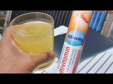 รีวิว mivolis Calcium แคลเซียม วิตามิน เกลือแร่ อาหารเสริม เยอรมัน เม็ดฟู่ ละลายนำ้