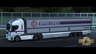 [ETS2] 478 日本仕様の Iveco Stralis Hi-Way で日本通運 | ボローニャ (ITA) ~ リヴォルノ (ITA)