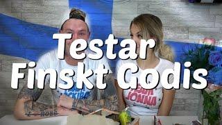 Testar Finskt Godis!