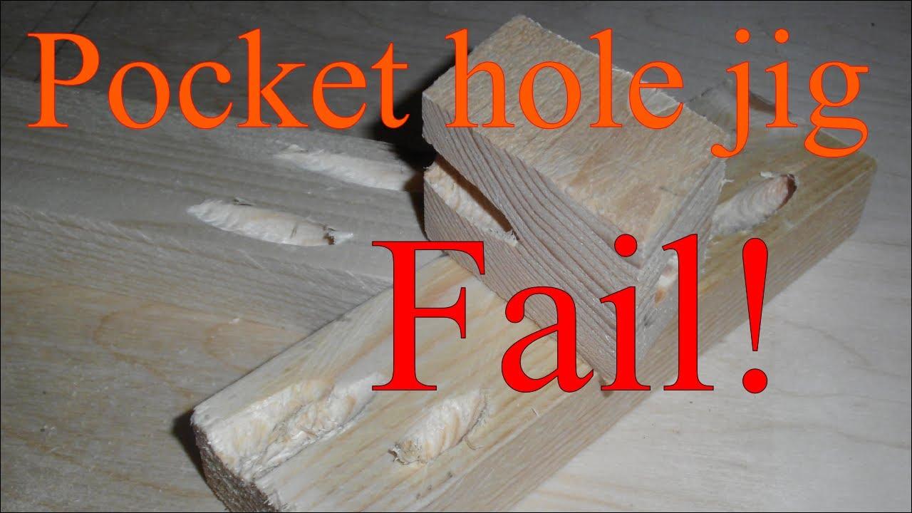 Fail   Pocket Hole Jig