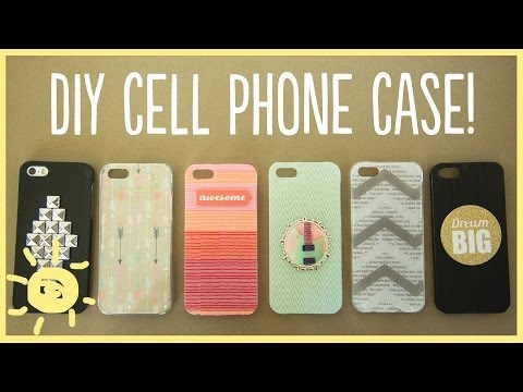 DIY | Cell Phone Case