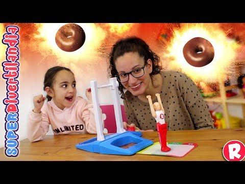 Fantastic Gymnastics y Donettes que pican! SUPERDivertilandia con Andrea y Raquel.