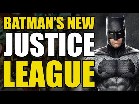 Thumbnail: Batman's New Justice League (Justice League of America Rebirth One Shot)
