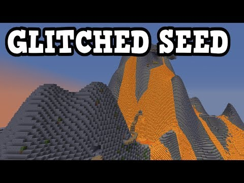 Minecraft – VOLCANO SEED For Xbox 360 / PS3