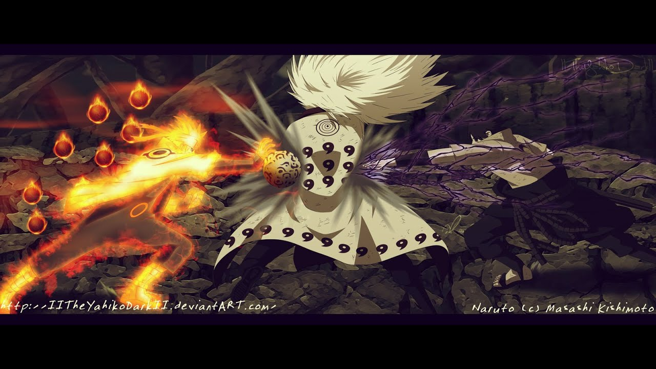 「AMV」 Naruto & Sasuke vs Madara - Disturbed - Haunted
