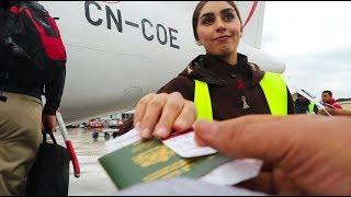 Flying from Casablanca to Tanger (Q&A) ! نهار ديال السفر