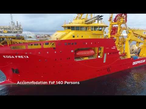 Edda Freya: The world's most advanced construction vessel