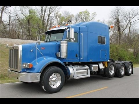 For Sale 2009 Peterbilt 367 Heavy Haul APU Low Miles Tri-Axle Low Hours