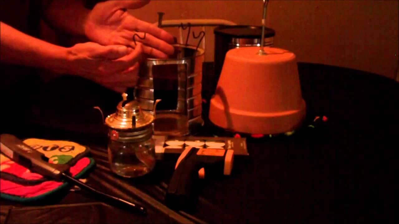 Oil Lamp Heater - YouTube