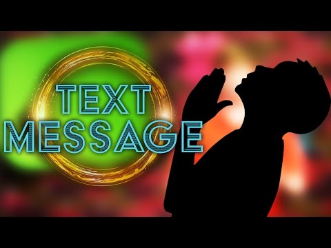 Text Message - Jonah, Don't Forget to Pray