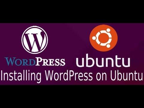Install wordpress to ubuntu server