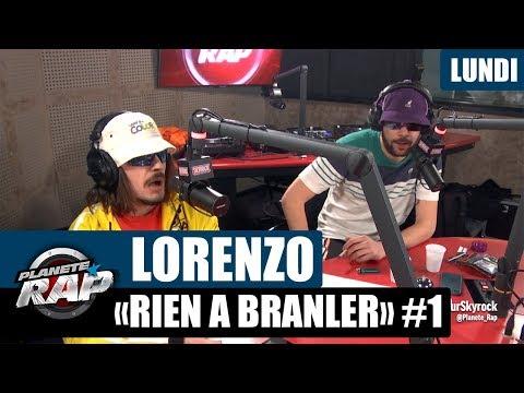 """Planète Rap - Lorenzo """"Rien à branler"""" #Lundi"""