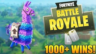 NEW LOOT LLAMAS COMING SOON & v3.3 DELAYED! - 1000+ Wins - Fortnite Battle Royale Gameplay - PS4 PRO