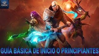 Guía Básica de Inicio - Age Of Magic Español [Android iOS]