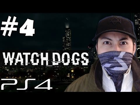 Watch Dogs Walkthrough Part 4 Cash Run AR Phone Gameplay Let's Play Playthrough PS4 1080p HD