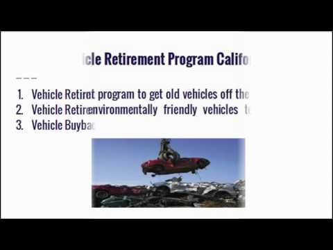 Vehicle Retirement Advisor In California  Youtube