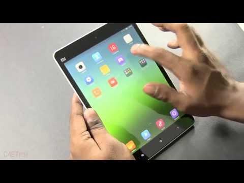 "Xiaomi Mi Pad - Unboxing & Hands On (Tegra K1 /w 192 Core GeForce Kepler GPU | 7.9"" 1536 x 2048)"