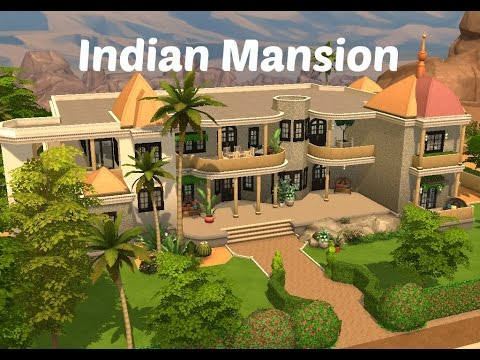 The Sims 4 House Building | Indian Mansion