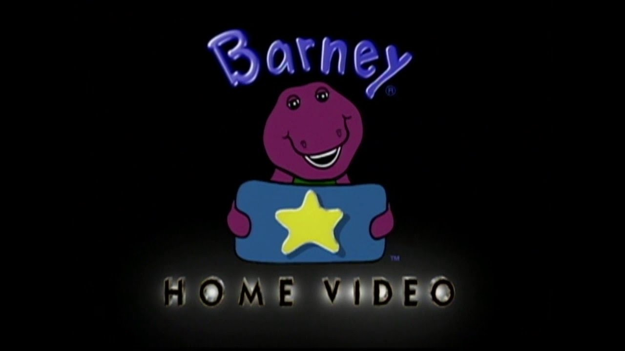 barney home video logo 1995 present hd 60fps youtube rh youtube com barney home video logo on scratch barney home video logo reversed