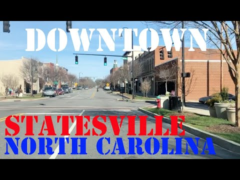 Statesville - North Carolina - Downtown Drive