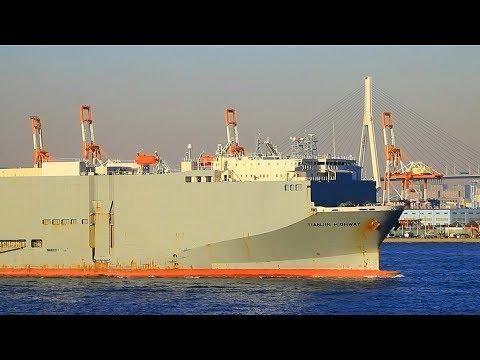 Shipspotting Tokyo Bay - January 13th, 2018