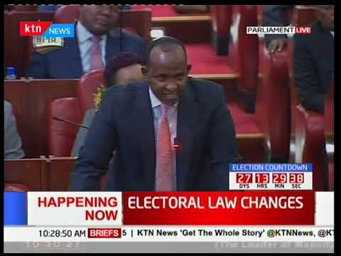 Junet Mohammed Takes On Aden Duale In Parliament