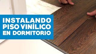 Cómo instalar piso vinílico en dormitorio