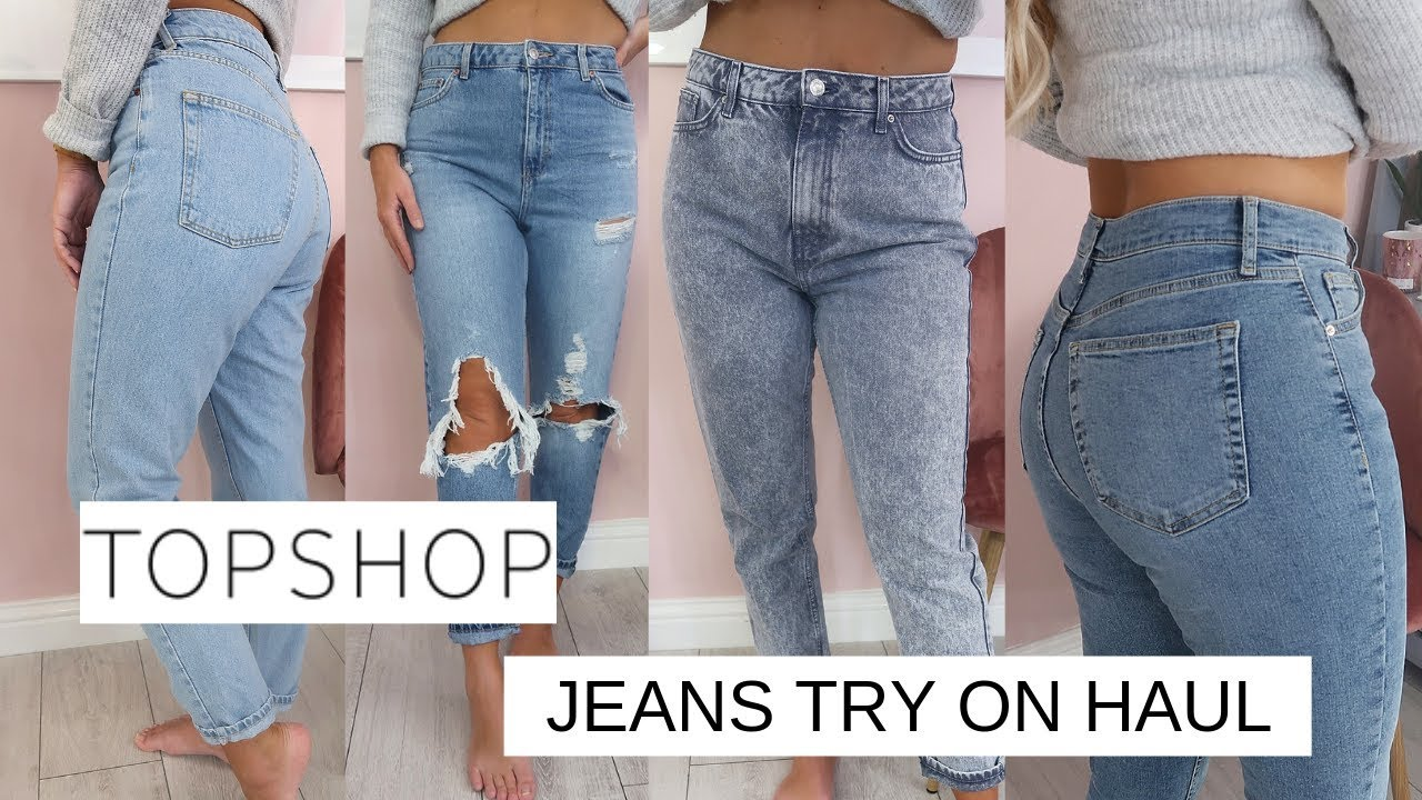 [VIDEO] - THE MOST FLATTERING TOPSHOP JEANS | TOPSHOP JEAN/DENIM TRY ON HAUL | Lucy Jessica Carter AD 4