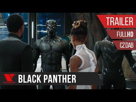 Black Panther (2018) - Full HD trailer - český dabing