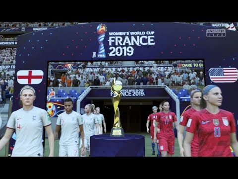 2019 FIFA Women's World Cup Final | England vs United States (Full Gameplay Xbox One X)