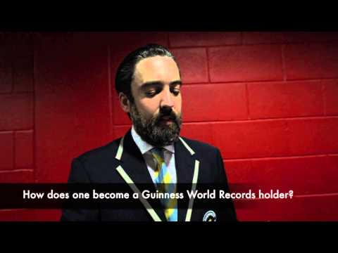Interview with Guinness World Records Adjudicator, Jack Brockbank
