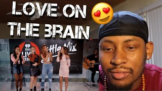"""Little Mix - Love On The Brain (Rihanna Cover) (Live on the Honda Stage at iHeartRadio) """"Reaction"""""""