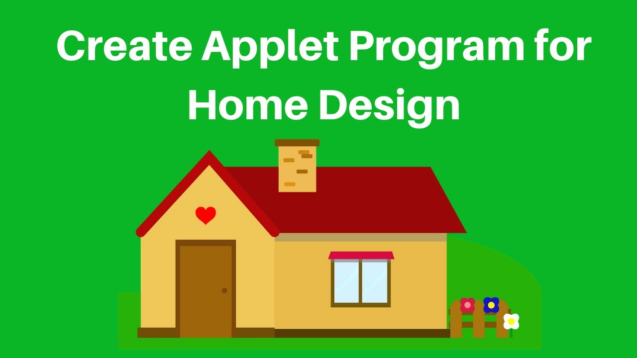 Download How to create simple Home Design program in java Applet
