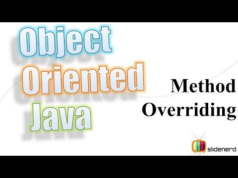 48 Java Method Overriding Theory  