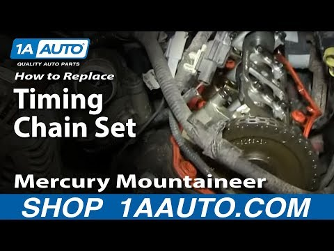 How to Replace Timing Chain Set 02-05 Mercury Mountaineer – Part 1