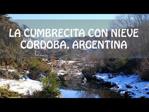 La Cumbrecita con nieve! Córdoba - Argentina