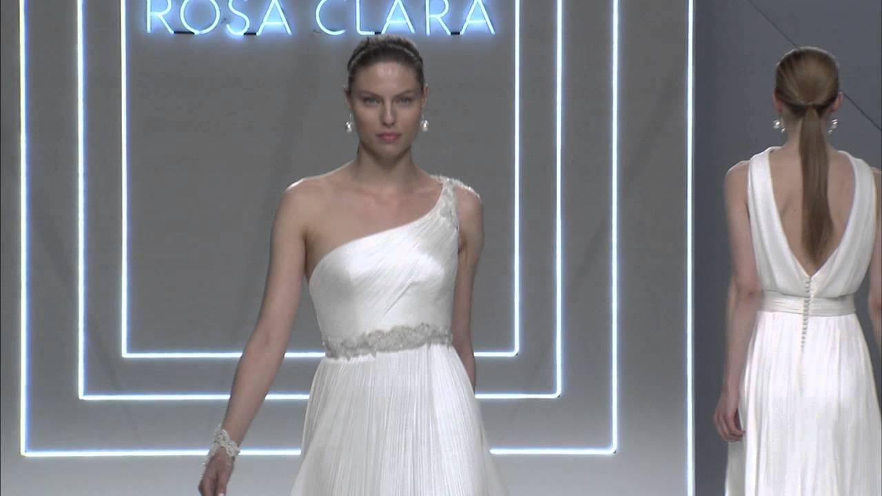 13e40b37b Rosa Clara Fashion Show 2017 - YouTube