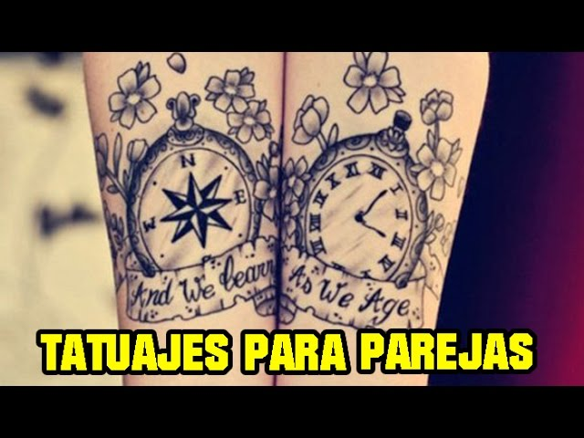 Tatuajes para Parejas ENAMORADAS