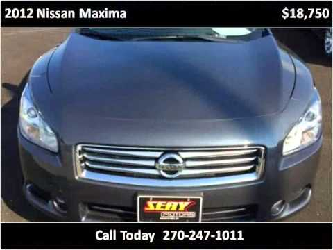 2012 nissan maxima used cars mayfield ky youtube for Seay motors mayfield ky
