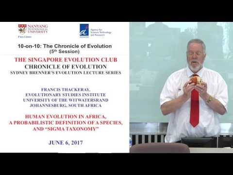 10-on-10: The Chronicle of Evolution - Francis Thackeray