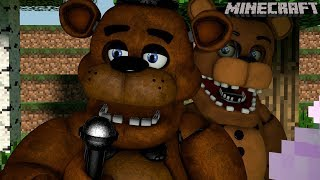 Minecraft FNAF Universe Mod Survival | Freddy's Stage! (EP 9)
