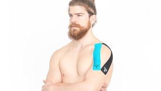 Video: Tapinganleitung Schulter tapen bei allgemeinen Schmerzen