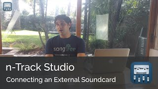 Video Connecting your external sound card || n-Track Studio Android Tutorial Series (Intermediate) download MP3, 3GP, MP4, WEBM, AVI, FLV Juli 2018