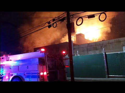 WATCH: Historic Newark Mansion Destroyed In 3-Alarm Blaze, No One Hurt