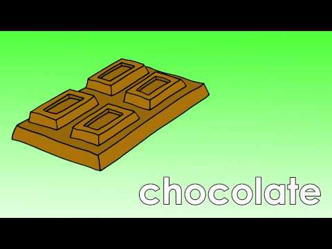 Learn Sweets Vocabulary | Talking Flashcards