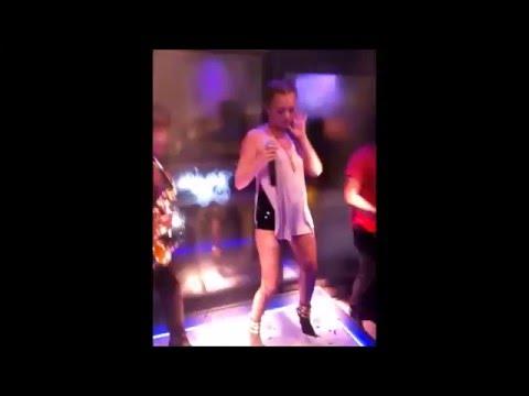Alexandra Stan - I Did It, Mama! LIVE @ S Club, Bucharest